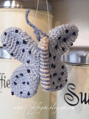 Pfiffigstes Häkelblog: Free Amigurumi Pattern: Diana, the Butterfly ...