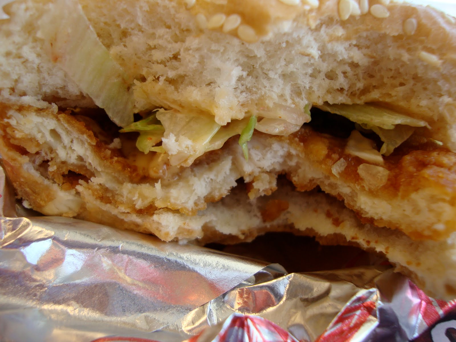 Pleased With My Recent Experiences Churchs I Decided To Try Their 99 Cent Chicken Sandwich Too Was Actually Given The Choice Of Regular Or Spicy
