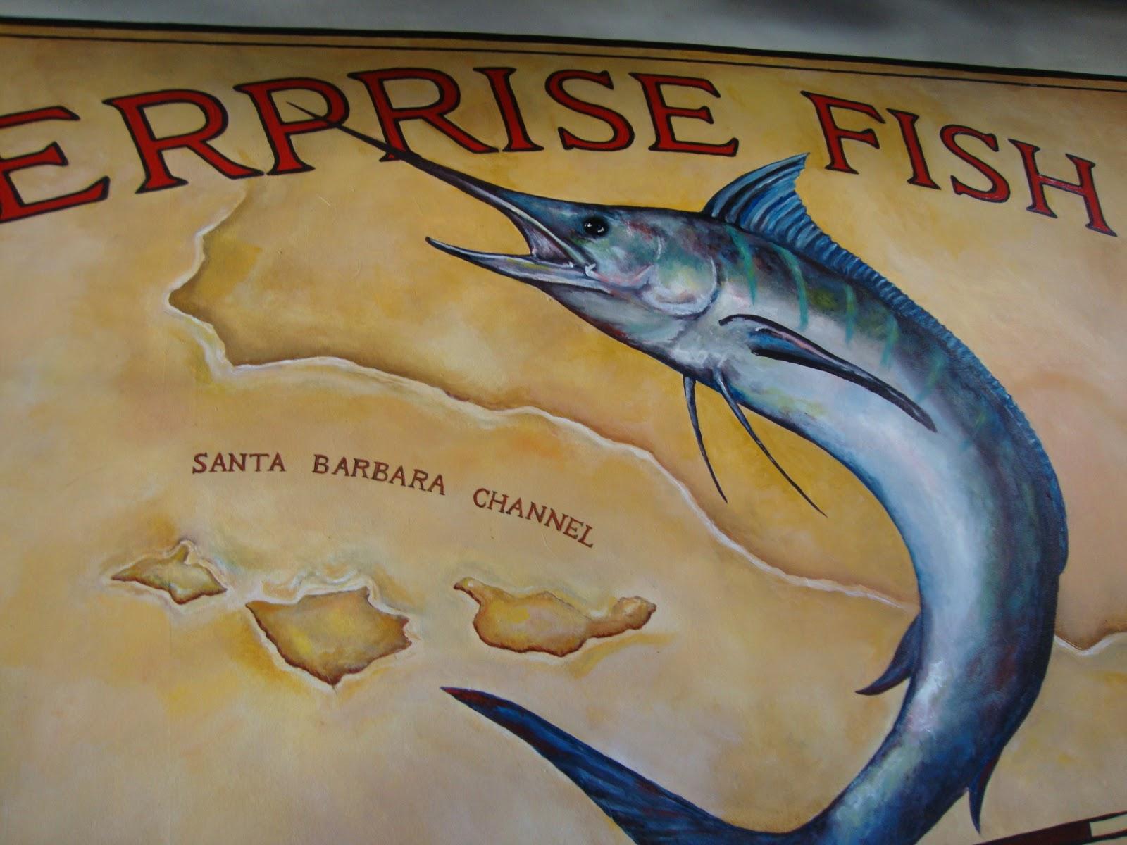 An immovable feast enterprise fish co santa barbara for Santa barbara fishing