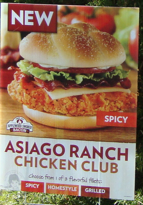 An immovable feast fast food review wendy 39 s asiago ranch for Does wendy s have a fish sandwich
