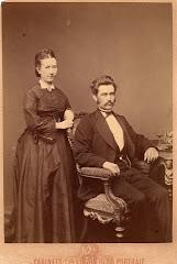 Bertel Christian Ipsen og Georgine Ipsen, f.Didrichsen 1874