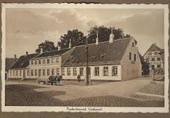 H.R.Langes købmandsgård i Frederikssund ca.1920