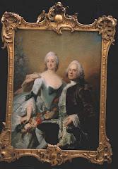 9.091.Christopher Fabritius (1710-1787) og hustru 9.092.Gundel Berntz (1715-1807)