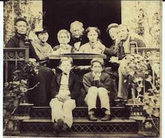 Johan David Stadfeldt Adolph med familie på Salem