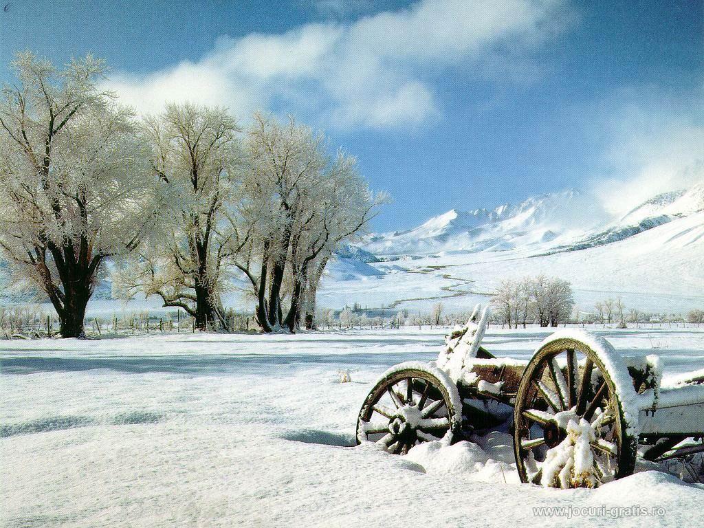 Cele mai frumoase peisaje de iarna (wallpapere, imagini)