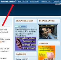 Menghilangkan Navbar di Blogdetik