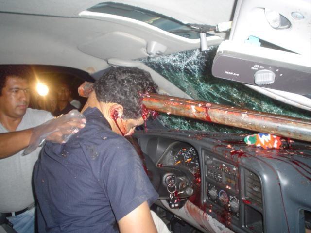 Cosas Interesantes!: Atroz muerte de joven conductor