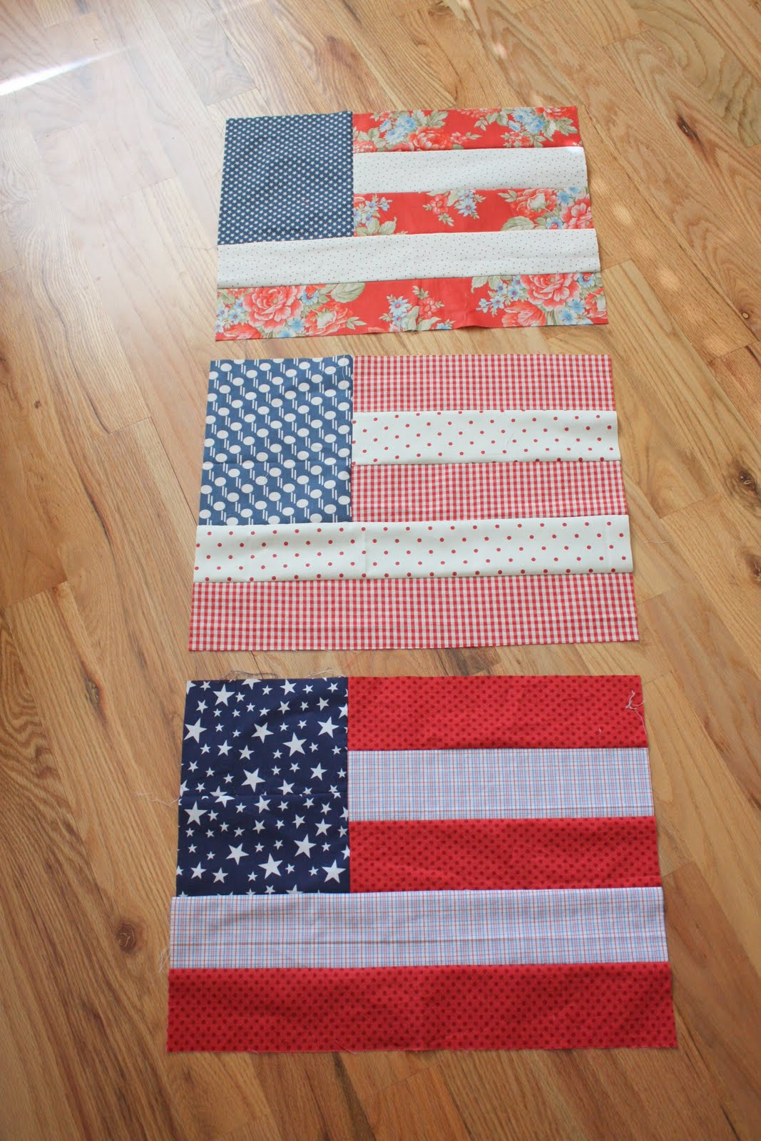 Flag Quilt Blocks - Diary of a Quilter - a quilt blog : flag quilts - Adamdwight.com