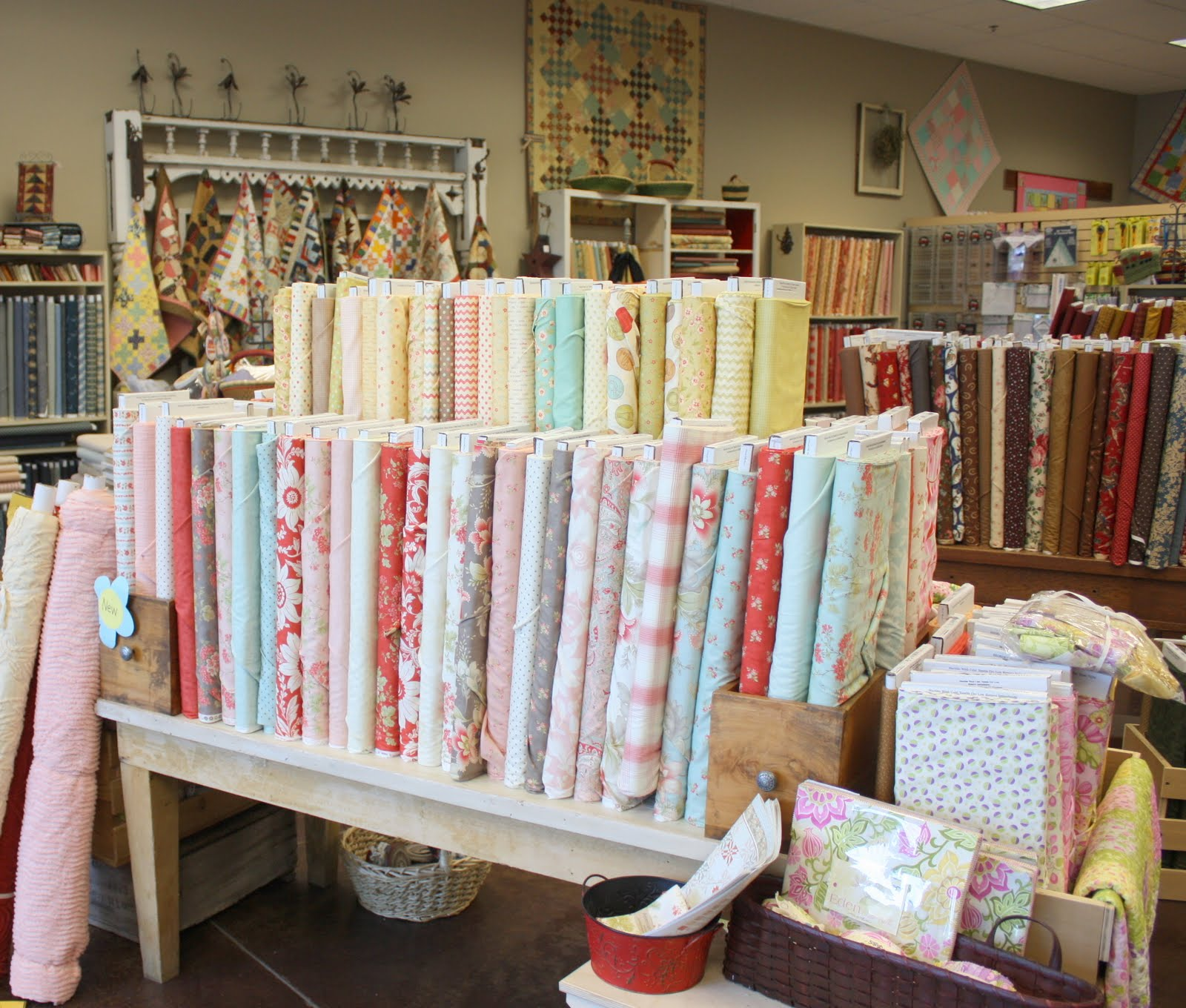 How to shop at a fabric store : quilt fabric stores - Adamdwight.com
