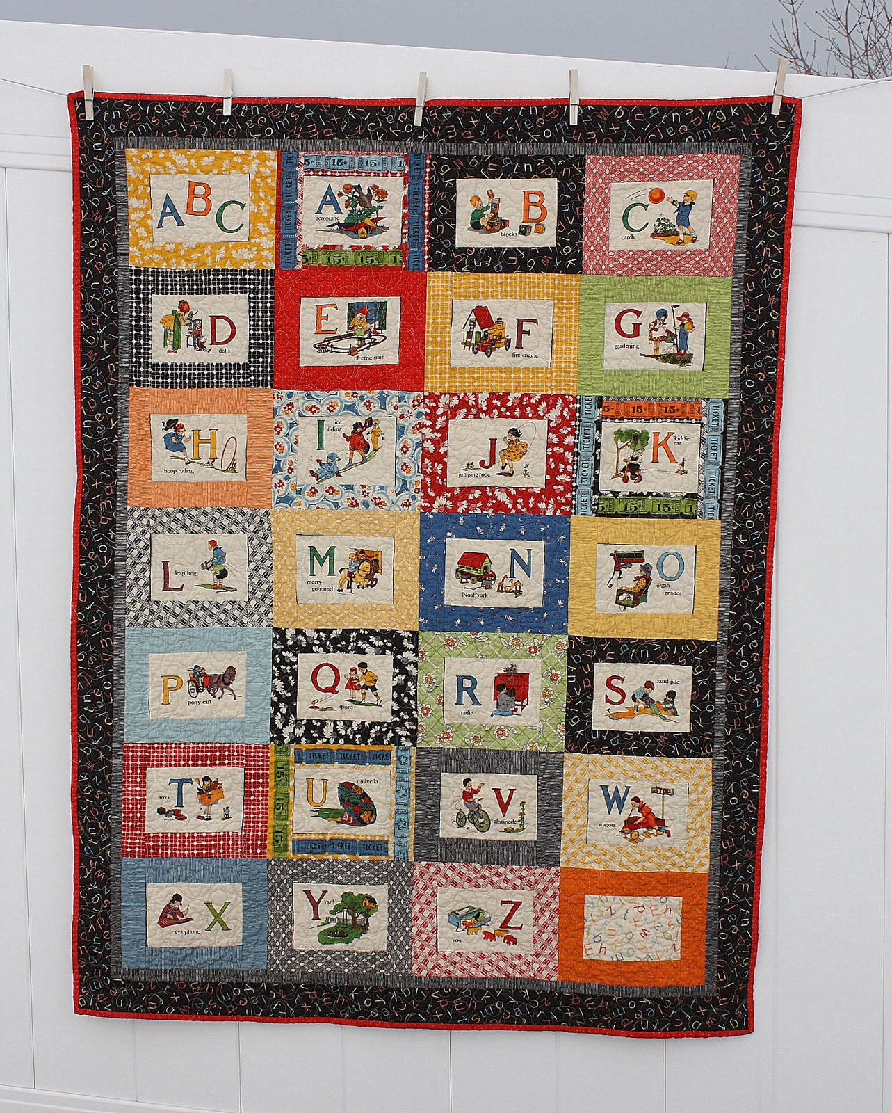 finished this quilt for the