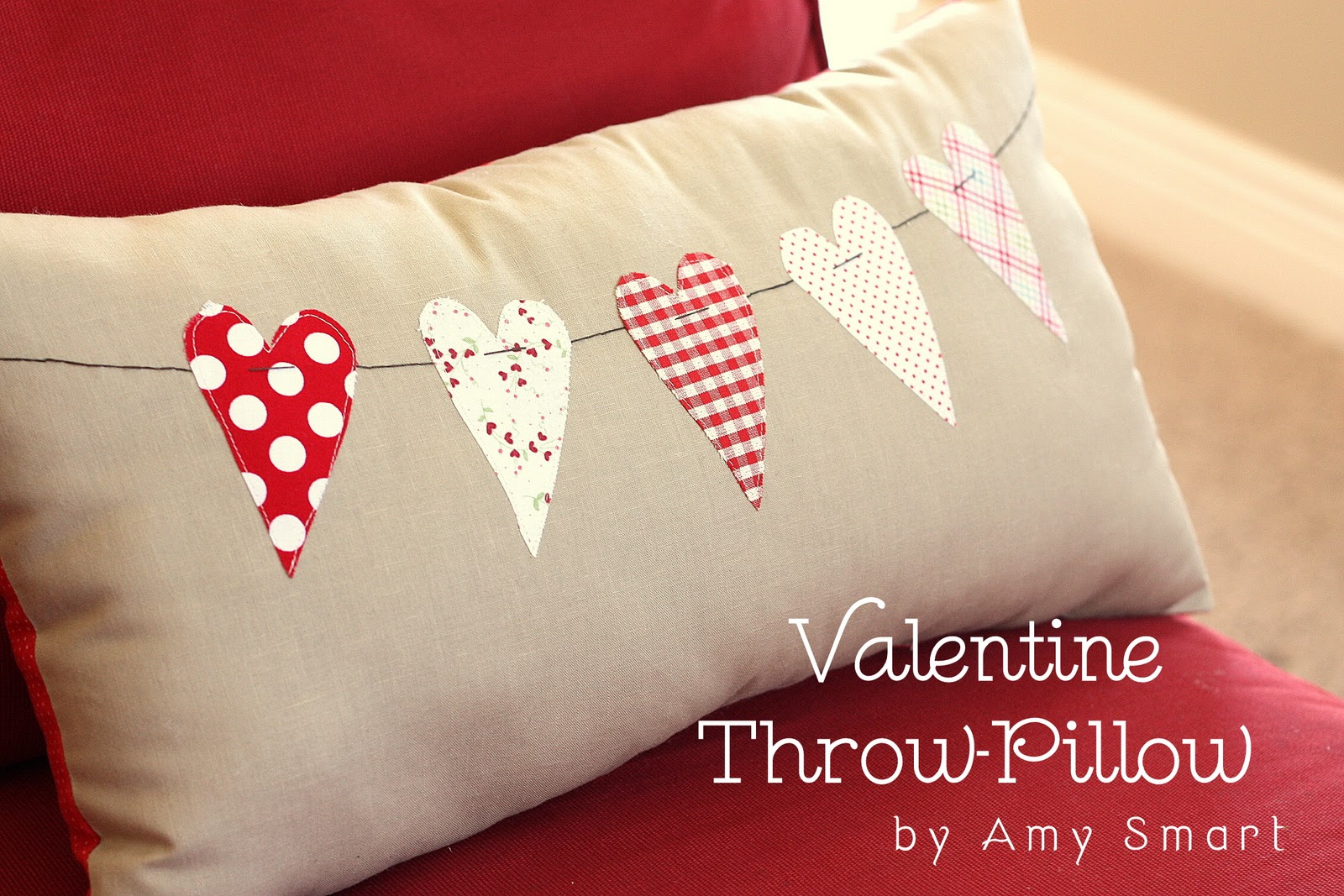 valetine pillow tutorial - Five Facts That Nobody Told You About Valentine Throw Pillows
