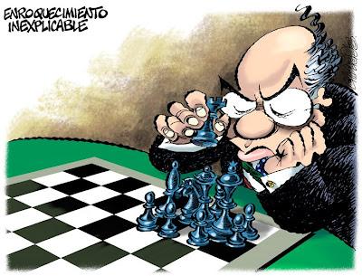 'Enroquecimiento inexplicable' por Paco Calderón