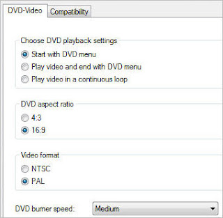 windows dvd maker option