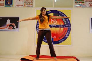 Namitha Bending Pose