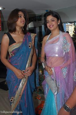 Photos Poonam Richa Hot Stills  Kalamandhir Nagavalli Collections Launch show stills