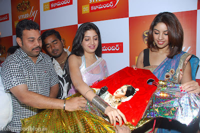 Photos Poonam Richa Hot Stills  Kalamandhir Nagavalli Collections Launch release images