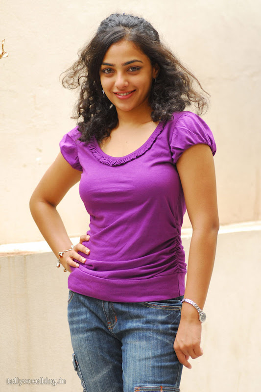Nitya Menon Cute Looking Stills from Ala Modalaindhi Telugu Movie sexy stills