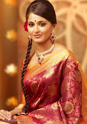 Anushka Shetty in Silk Saree for Chennai Silks Photo Shoot-thumbnail-1
