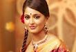 Anushka Shetty in Silk Saree for Chennai Silks Photo Shoot