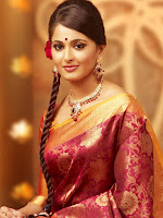 Anushka Shetty in Silk Saree for Chennai Silks Photo Shoot-cover-photo
