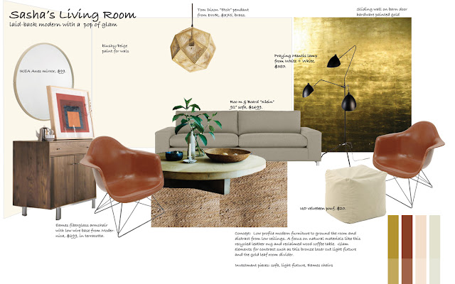 The four dog fig farm friday fun virtual decorating for my style - Tom dixon knock off ...