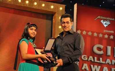 Salman Khan at CID Galantry Awards