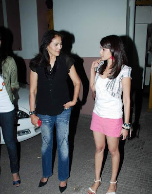 Genelia D'souza at Chance pe Dance Special Screening