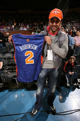 Ranbir kapoor at LA Lakers vs NY Knicks Game
