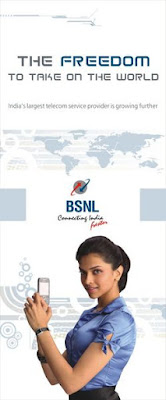Deepika Padukone BSNL ad