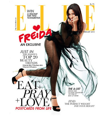 Freida Pinto on Elle Magazine