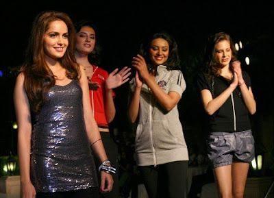 Shazahn Padamsee at the launch of Skechers