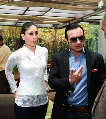 Saif Ali Khan at IPL Bidding