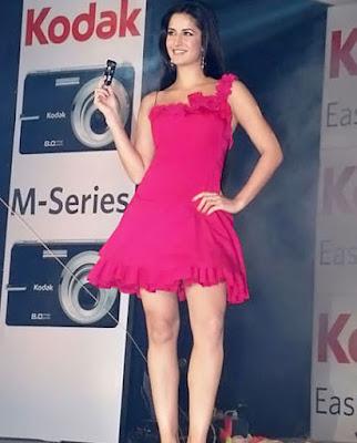 Katrina Kaif no bra