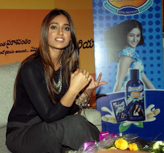 South Actress Ileana at Promotional Event of Superia Shampoo