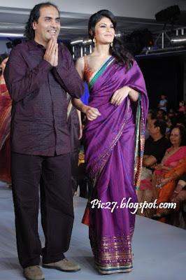 Jacqueline Fernandez at Chennai International Fashion Week