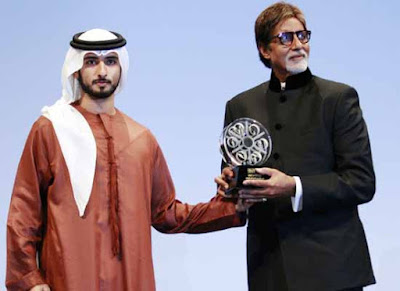 Amitabh Bachchan Receives Lifetime Achievement in Dubai