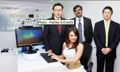 Minissha Lamba at the launch of LG Office Solution
