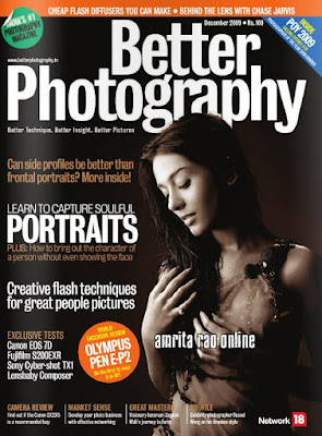 Amrita Rao on the Cover of Better Photography
