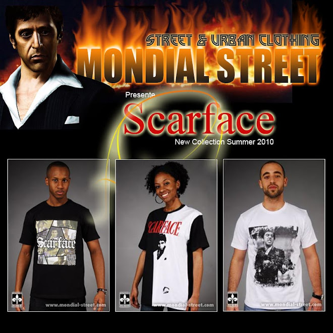 SCARFACE OFFICEL COLLECTION http://MONDIAL-STREET.COM