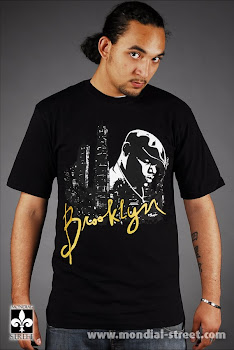 T-SHIRT NOTORIOUS B.I.G TIME IS MONEY BRAND by http://MONDIAL-STREET.COM