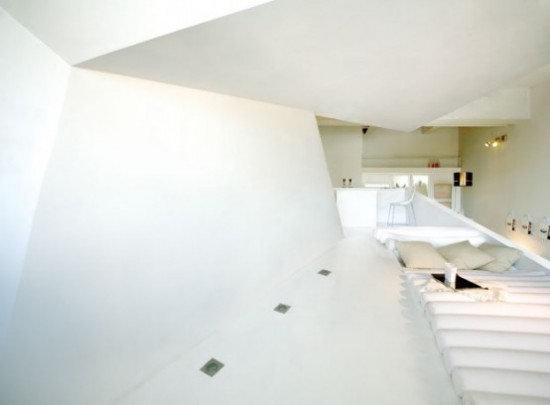 Japanese Art Apartment Interior Design in Barcelona