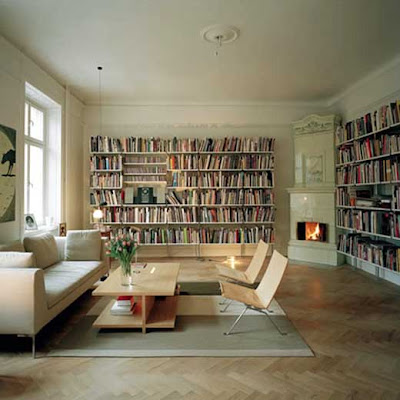 Home Interior Decorating on Personal Home Library Interior Decorating   Interior Design And