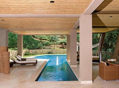 Elegant Pool Green House
