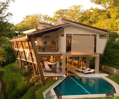 Elegant Green House