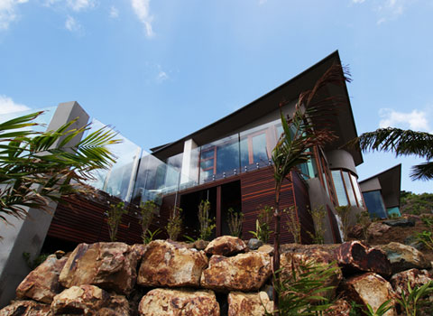 modern tropical house