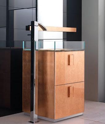 Modern Sink furniture Design by Qin