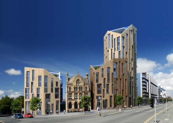 Architectural Design of Urban Building in Liverpool