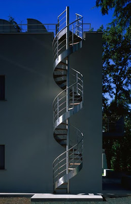 Exterior Staircases, Metal Staircases, Spiral Staircases, Staircase Designs