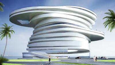 Architectural Design, Hotel Design, Helix Hotel, Hotel Architectural