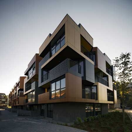 Tetris Apartments Architectural Design by Ofis architects
